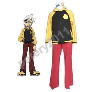 Soul Eater Soul Evans Cosplay Jacket Coat Costume Costumes