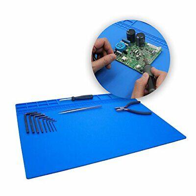 Large Soldering Matpad Silicone Heat Resistant Mat 932f Hot Air Rework Mat...