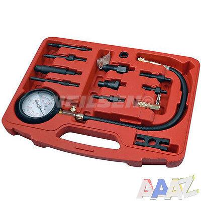 Diesel Engine Cylinder Pressure Tester Car Compression Gauge Test Tool Kits Kit