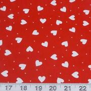 Red Heart Fabric