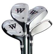 Warrior Golf Clubs Set