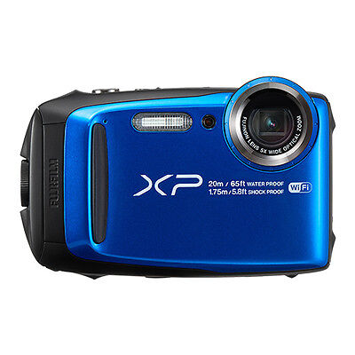 Fujifilm FinePix XP120 16.4MP Digital Camera Blue Full-HD WiFi
