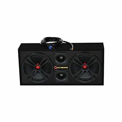 "Qpower QCHERO10 Loaded Chuchero [2] 10"" Speakers & [2] Superztweeters Boxed No"