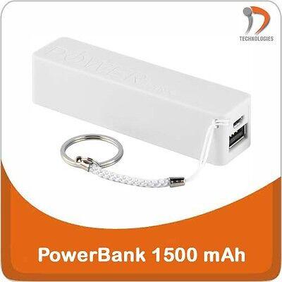 PROMO Power Bank Batterie Battery Batterij 1500mAh connexion USB microUSB