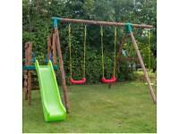 Little Tikes Hamburg Swing and Slide Garden Set