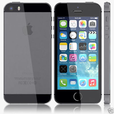 APPLE IPHONE 5S Unlocked Space Gray 16gb 1gb Dual Core Camera Ios 12 Smartphone