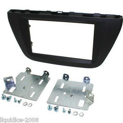 CT23SZ10 SUZUKI SX4 S-CROSS 2013 ONWARDS DOUBLE DIN FACIA ADAPTER PANEL KIT