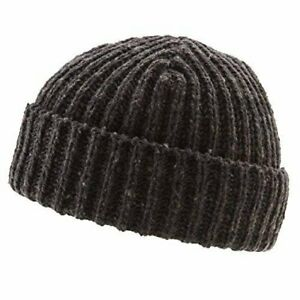 Icebox Knitting Dohm Otto Coal Winter Wool Hat