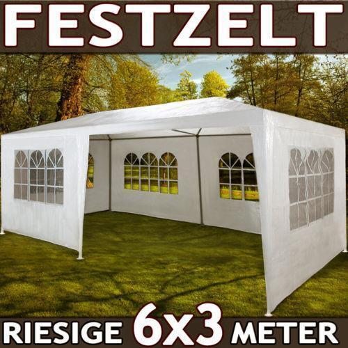 Gartenpavillon Zelt Faltpavillon Pavillon Partyzelt 3x6 : Bierzelt m partyzelt gartenzelt festzelt pavillon zelt