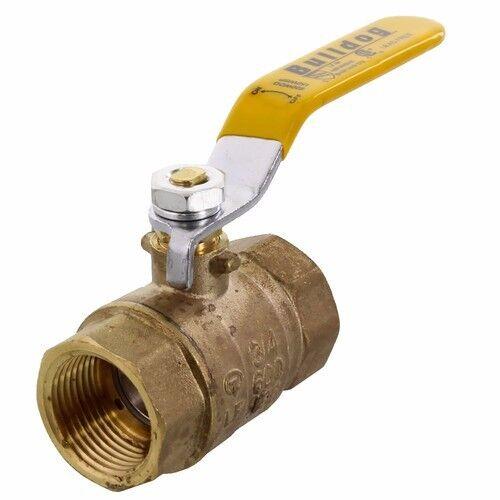 """1"""" IPS Female Full Port 600 WATER,OIL,GAS Brass Ball Valve Threaded FIP Plumbing"""