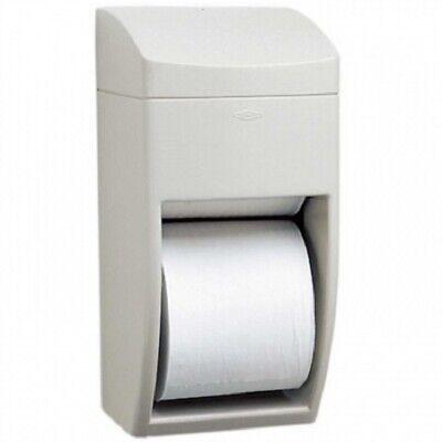 Bobrick B-5288 Matrixseries Double Roll Plastic Toilet Paper Dispenser New