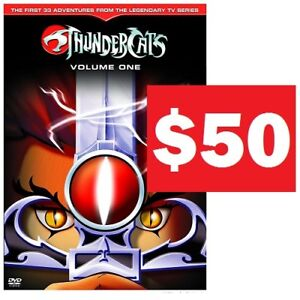 THUNDERCATS, HOOOOOOOO!! Season One Box Set (DVD)