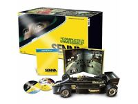 AYRTON SENNA MINICHAMPS 1:12 1985 LOTUS-FIRST F1 GP WIN PORTUGAL,Collectors Item.