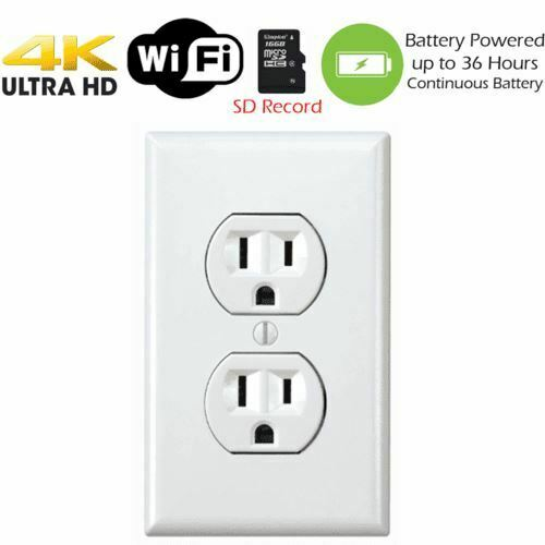4K Battery Powered Receptacle Outlet  KC 3560