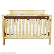 Brown Crib Bumper