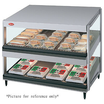 Hatco Grsds-52d Countertop Multi-product Display Warmer With 2 Slanted Shelves