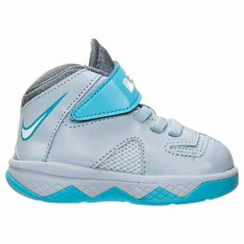 New Nike Baby Lebron Soldier 7 TD Shoes (616987-402) Lt Army Blue/White/Gym Blue