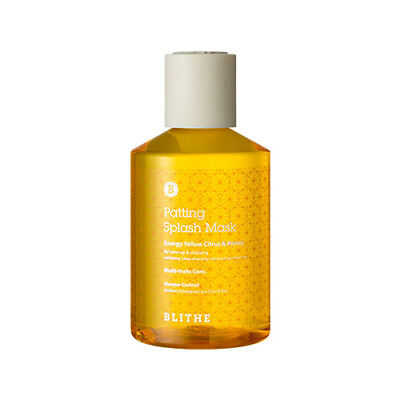 (Expiry date MAR.2019) [BLITHE] Patting Splash Mask Energy Citrus & Honey 200ml