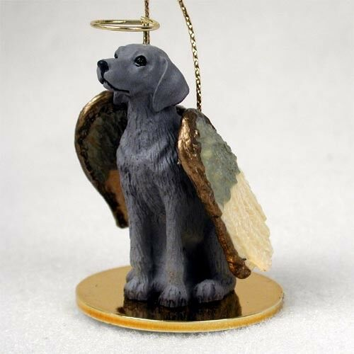 Weimaraner Dog ANGEL Tiny One Ornament Figurine Statue