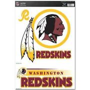 Redskins Cornhole Decals