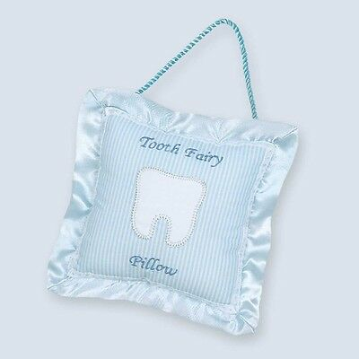 Bearington Baby Collection -Le Petite Tooth Fairy Pillow - Blue ~NEW~FREE Ship