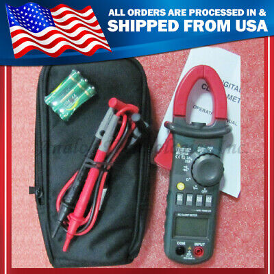 New Mastech Ms2008a Multi-fuction Handhold Acdc Digital Clamp Meter Backlight