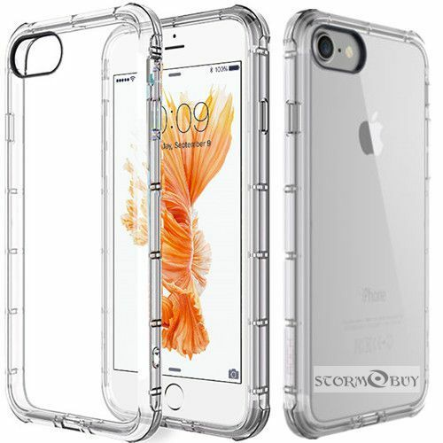 Fits Apple iPhone SE / 5s 5 Case Silicone Clear Shockproof R