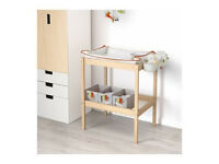 IKEA Changing table with accessories (£15)
