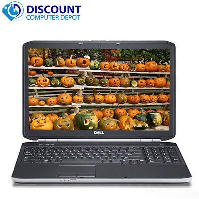 """Fast Dell Latitude E6520 15.6"""" Laptop Computer Core i5 4GB 250GB Windows 10 Pro"""