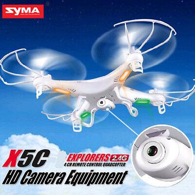 Syma X5C Explorers 2.4Ghz 4CH 6-Axis Gyro RC Quadcopter Drone w/ HD Camera RTF