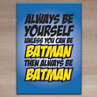 Batman Canvas Decorative Posters & Prints