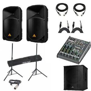 THE SUPER GIG PACKAGE - EPIC BUNDLE!!! ALL IN ONE AT AN AMAZING PRICE - $1,949.00