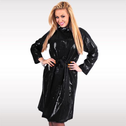 Shiny Black Raincoat Coats Amp Jackets Ebay