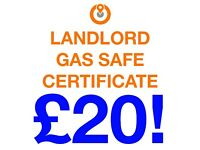 Landlord Gas Safe Certificate - Tower Hamlets - £20 - Yes £20. Call ASAP!! Gas safety