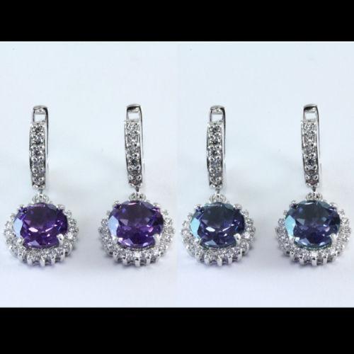 Natural Alexandrite Necklace: Alexandrite Earrings