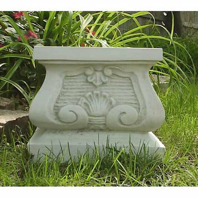 Tuscan Pedestal For Garden Urn/Statue Display- by Orlandi- Fiberglass-12