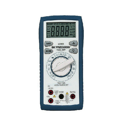 Bk Precision 2709b Tool Kit Auto Ranging True Rms Digital Multimeter