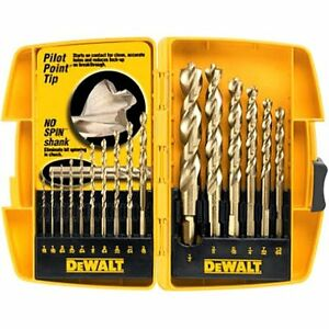 DEWALT 16 Piece Pilot Point® Drill Bit Set - DW1956