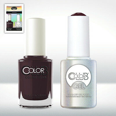 "Color Club Duo Pack Soak-Off Gel Polish + Nail Lacquer ""Kill"