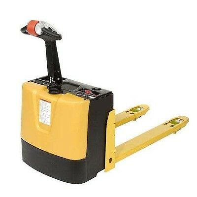 Electric Power Pallet Truck - 3000 Lb Capacity - Self Propelled - 12 Volt 95ah