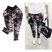Mens Floral Pants