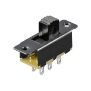 S608-10-pc-INTERRUPTORES-Deslizantes-2x-de-un-O-Miniatura-Mini