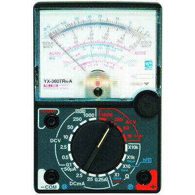 Dc Ac Analog Meter Multimeter With Fuse Diode Protection