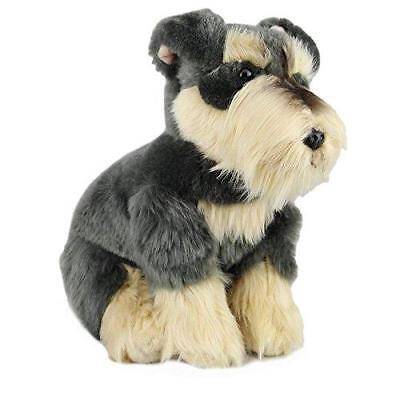 Plush Dog SCHNAUZER Soft Cute Collectable Toy - Stuffed Animal Branded Gift