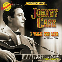 """JOHNNY CASH """"I WALK THE LINE"""" BRAND NEW FACTORY WRAPPED CD"""