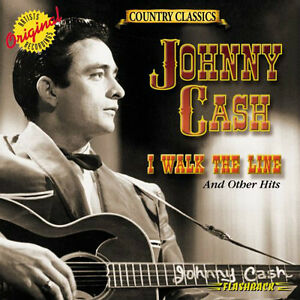 "JOHNNY CASH ""I WALK THE LINE"" BRAND NEW FACTORY WRAPPED CD"