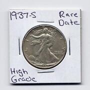1937 Half Dollar