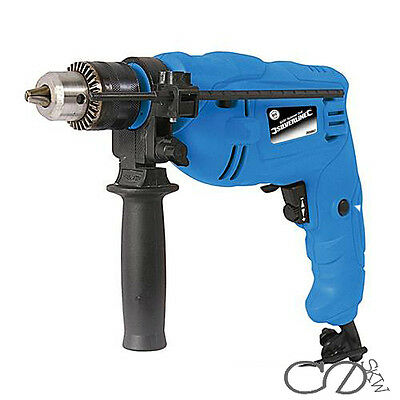 HEAVY DUTY SILVERLINE 500W VARIABLE SPEED ELECTRIC IMPACT HAMMER DRILL WARRANTY