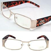 Mens Gold Eyeglass Frames
