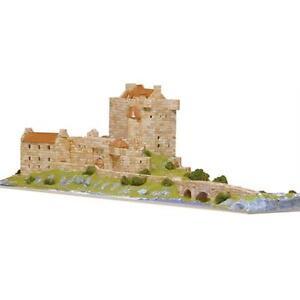 Aedes Ars Eilean Donan Castle Architectural Model Kit - 4600 Pieces